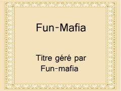certitfiact de fun-mafia